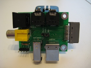 Photo of an assembled Ultradock Lite (version 2) from the top