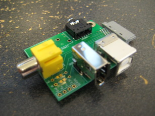 Photo of a partially assembled Ultradock Lite (version 2) from the opposite corner.